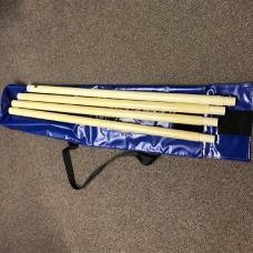 Vinyl Carry Bag for Glass Fibre rods.