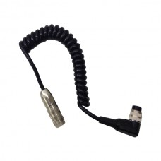 Short Curly Cable Connection Lead
