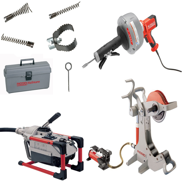 RIDGID Drain Tools & Equipment